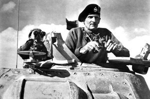 Marshal Montgomery in North Africa during WW2. Source: http://thetim.es/1Pdl3es