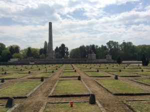 The Soviet War Cemetery in Warsaw, May 2015.